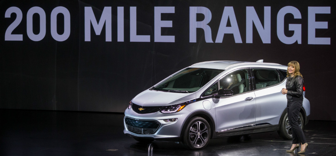 When will the 2017 Chevy Bolt EV arrive in Naperville, IL