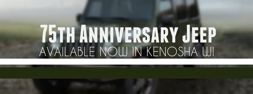 75th Anniversary Jeep Renegade Available in Kenosha WI