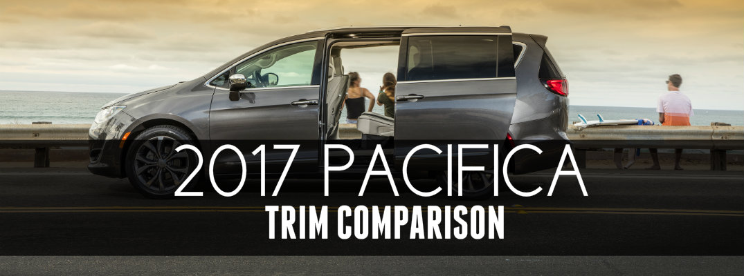 2017 chrysler pacifica trim level comparison. Black Bedroom Furniture Sets. Home Design Ideas