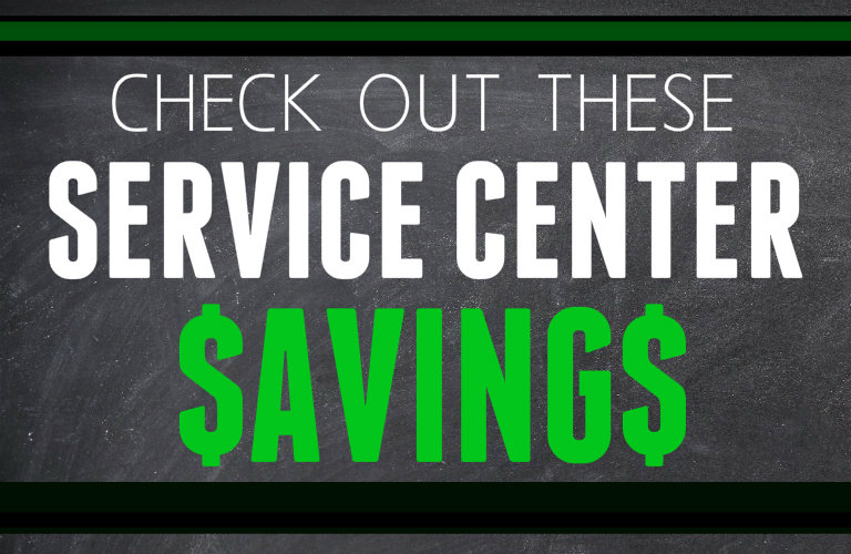 Service Center Savings Kenosha WI