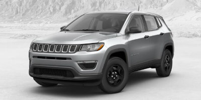 Billet Silver Metallic Clear Coat 2017 Jeep Compass