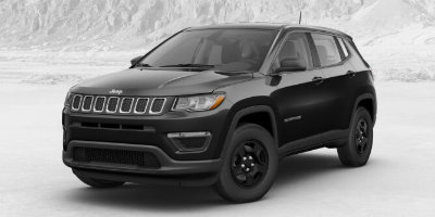 Diamond Black Crystal Pearl Coat 2017 Jeep Compass