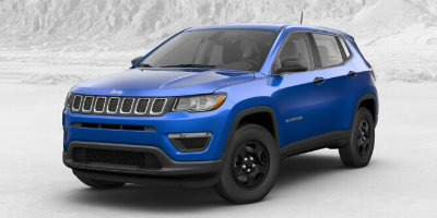 Laser Blue Pearl Coat 2017 Jeep Compass