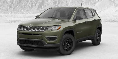 Olive Green Pearl-Coat 2017 Jeep Compass