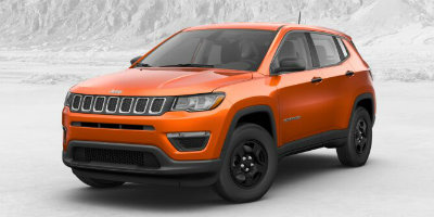 Spitfire Orange Clear Coat 2017 Jeep Compass