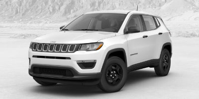 White Clear Coat 2017 Jeep Compass