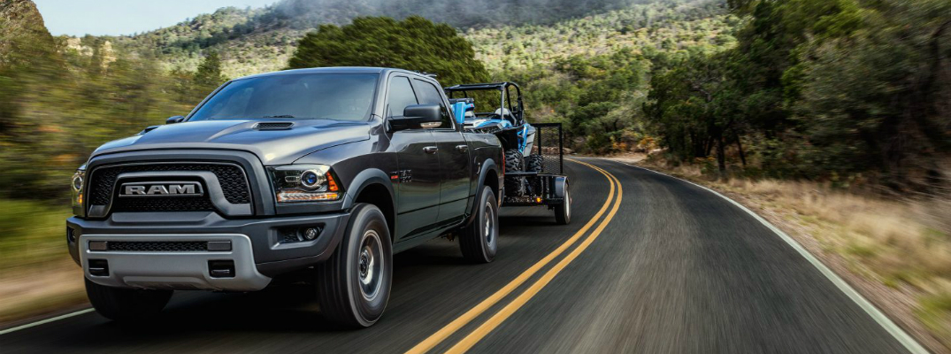 What's the Maximum Horsepower Rating for the 2017 Ram 1500?