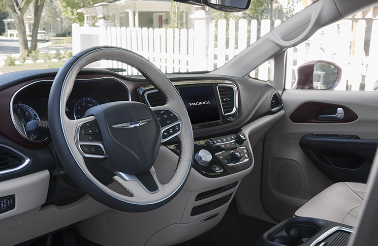 2017 Chrysler Pacifica Passenger And Cargo Space