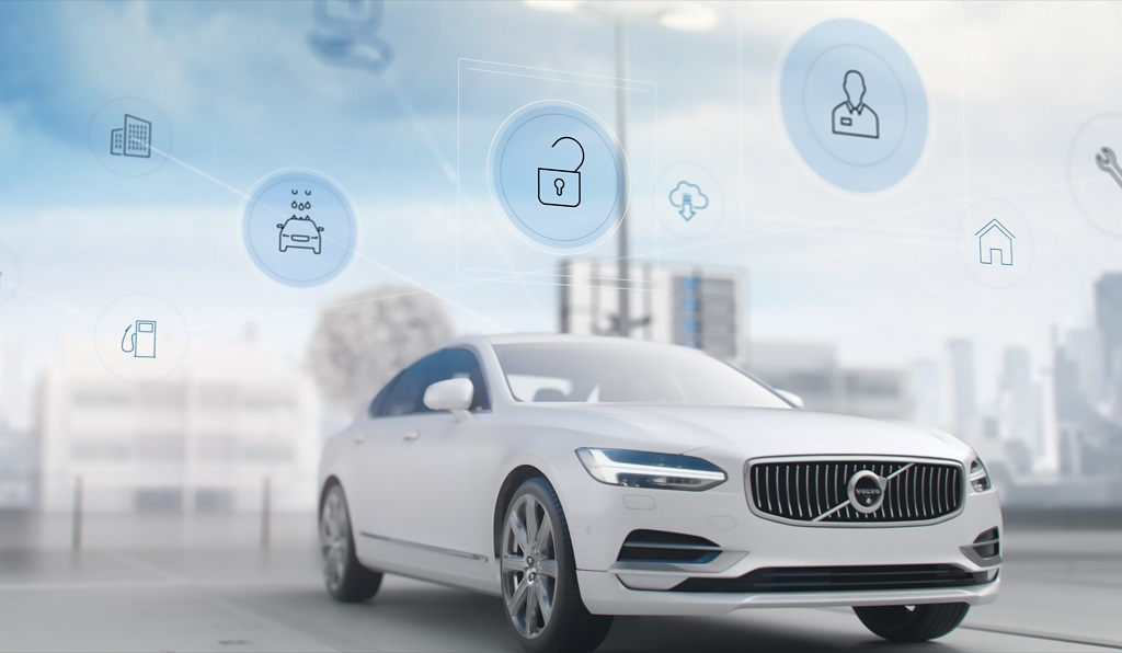 Volvo Connected Car Tech