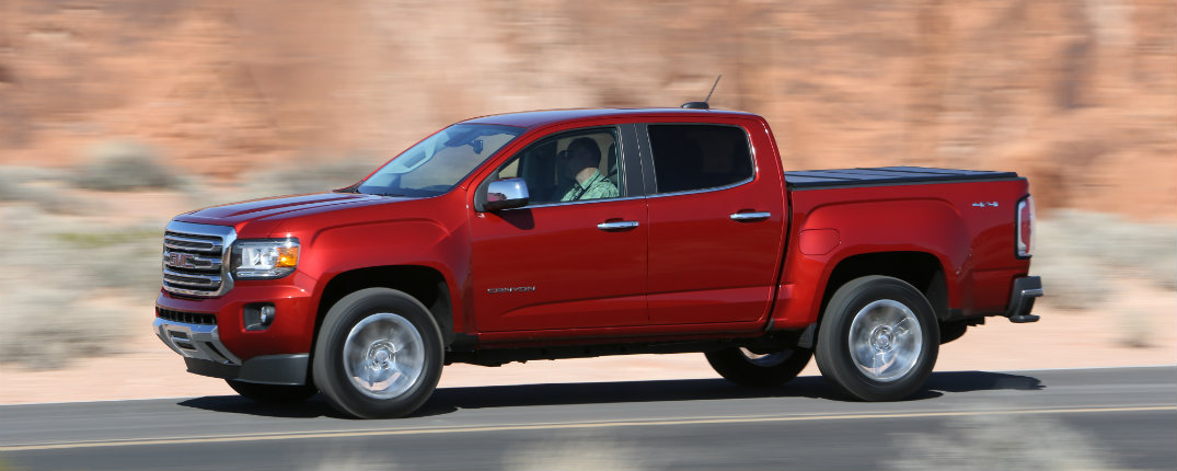 what 39 s new on the 2016 gmc canyon. Black Bedroom Furniture Sets. Home Design Ideas