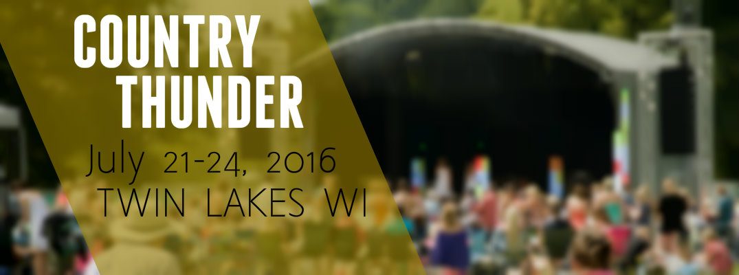 Country Thunder LineupTwin Lakes WI 2016