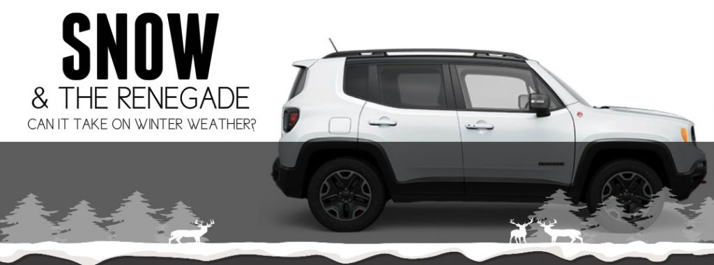 how does the jeep renegade handle in snow. Black Bedroom Furniture Sets. Home Design Ideas