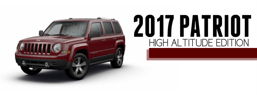 2017 Jeep Patriot High Altitude Features and Performance