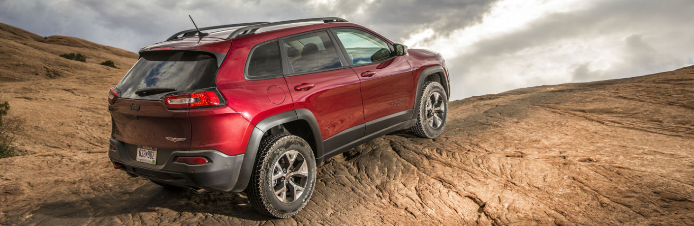 2017 Jeep Cherokee Interior Features