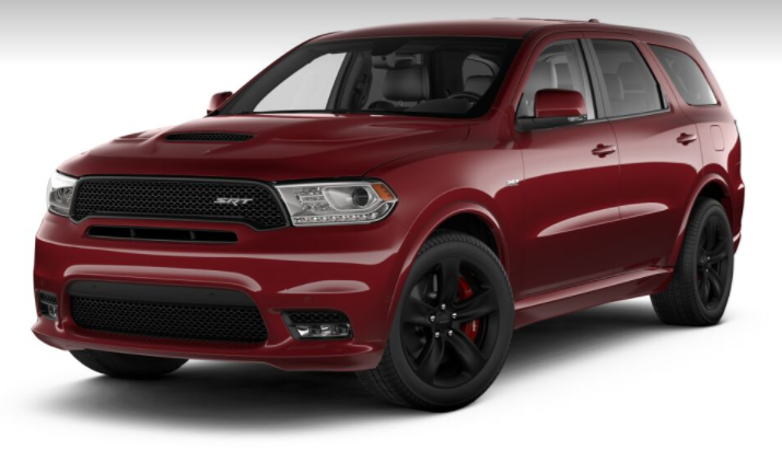 2018 Dodge Durango Srt Color Options