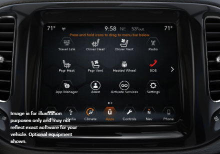 2018 Jeep Comp Interior Features