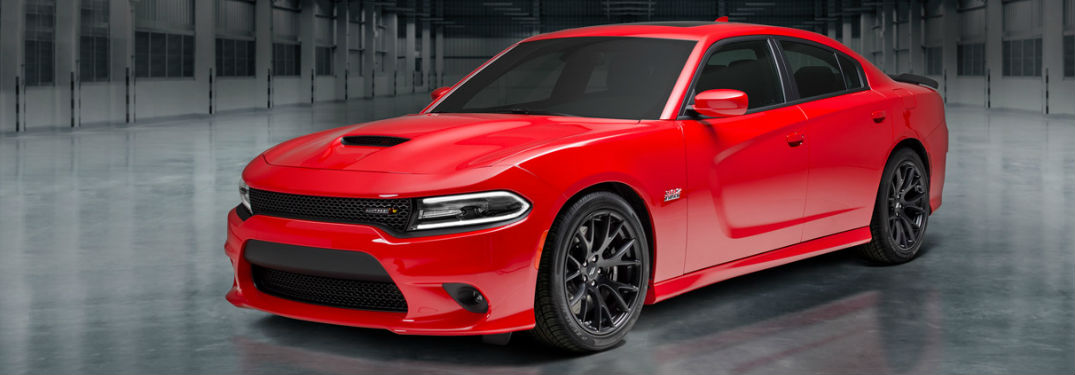 Red Dodge Charger - Dodge Charger Trim Levels