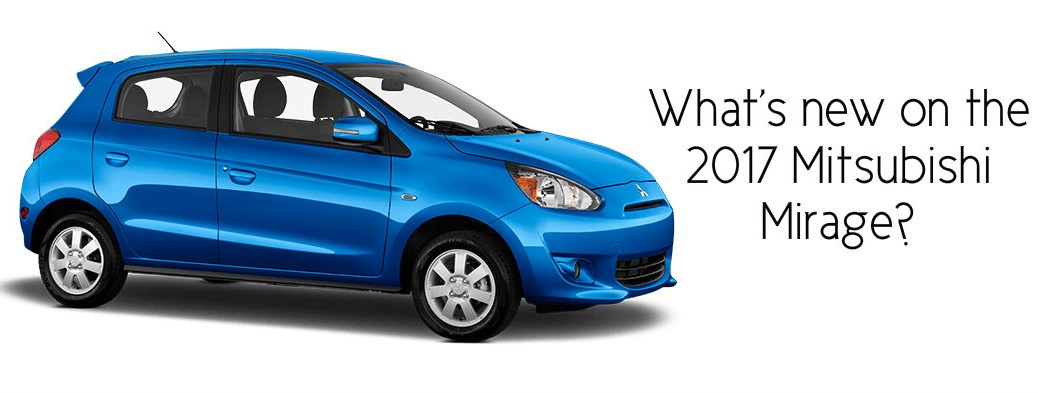 New Mitsubishi Mirage set for 2017 release