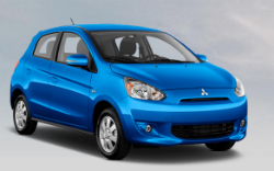 what color options does the mitsubishi mirage come in 6