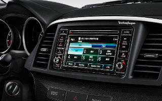 2017 Lancer audio touch screen display