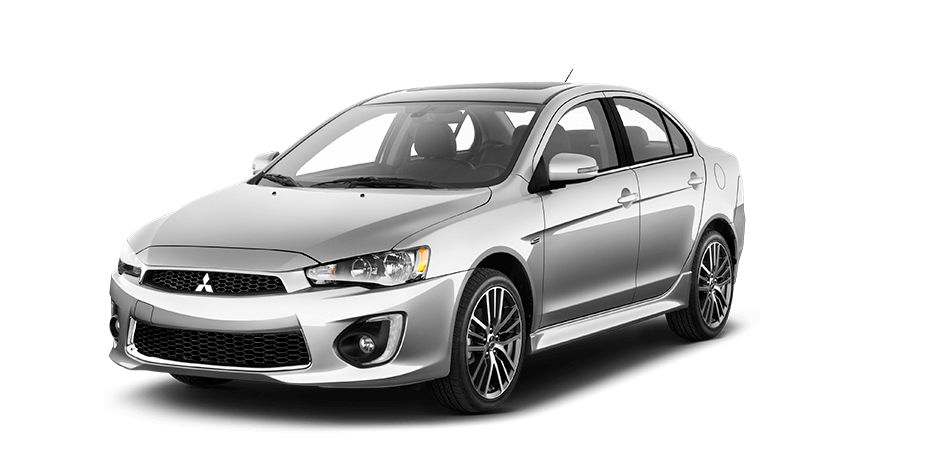 What colors does the 2017 Mitsubishi Lancer exterior come in?