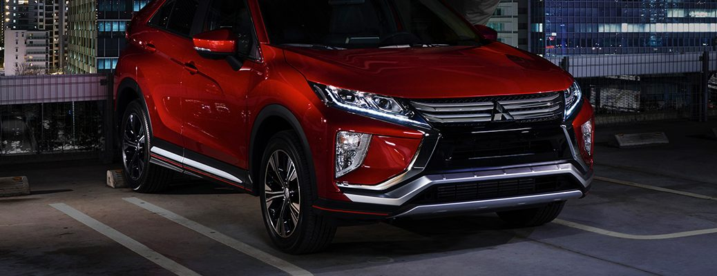 2018 Mitsubishi Eclipse Cross front exterior dynamic shield