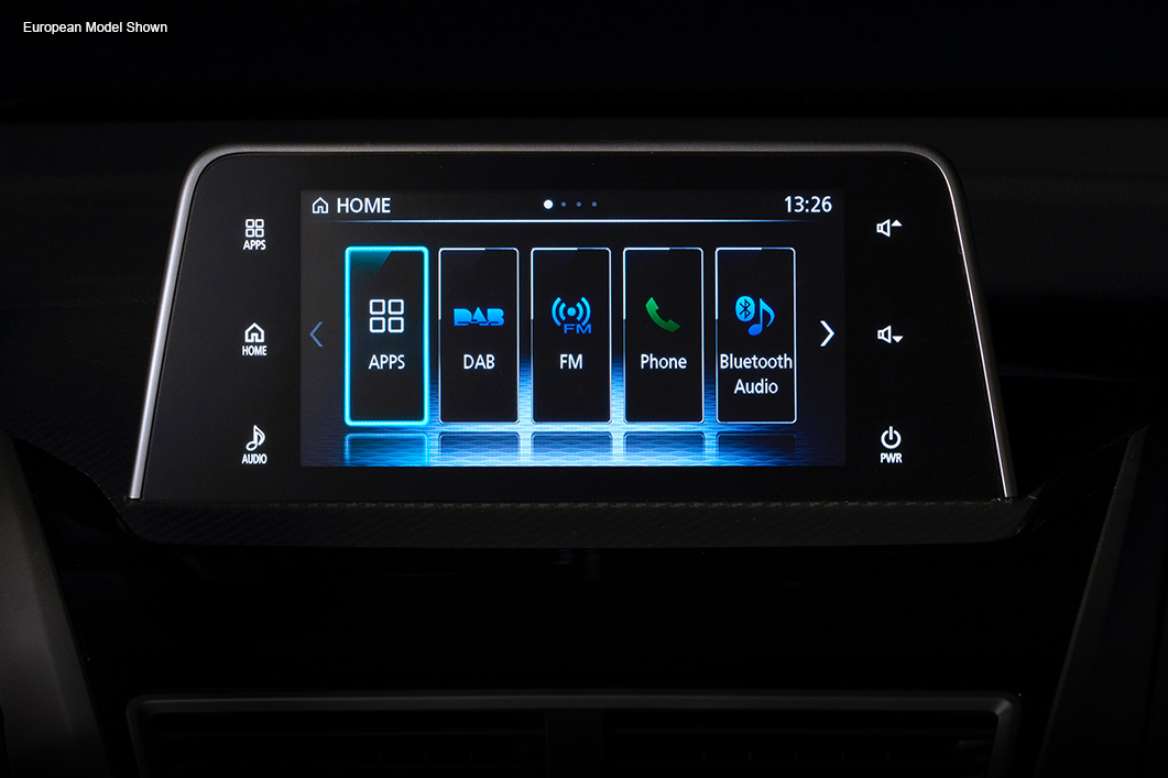 2018 Mitsubishi Eclipse Cross touchscreen connectivity
