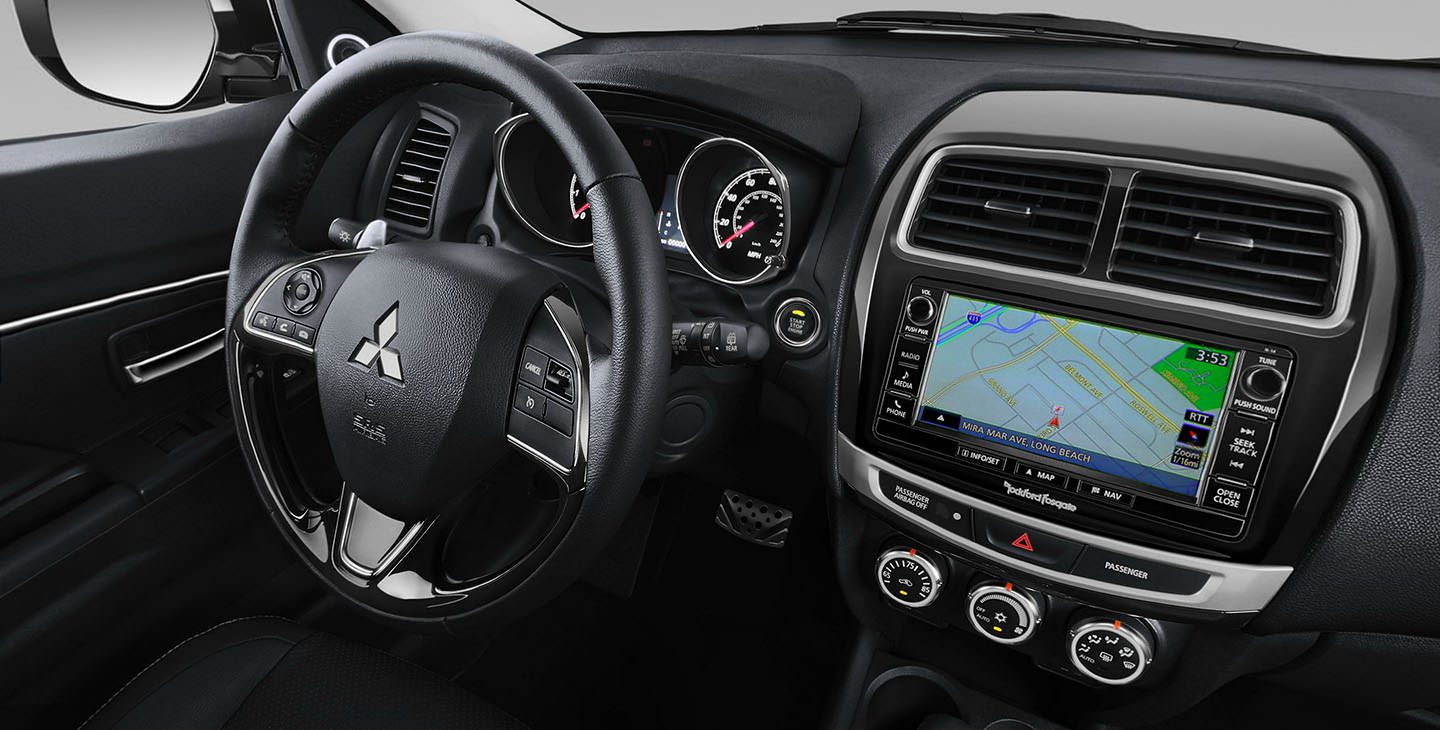 photo 2017 mitsubishi outlander sport interior tour