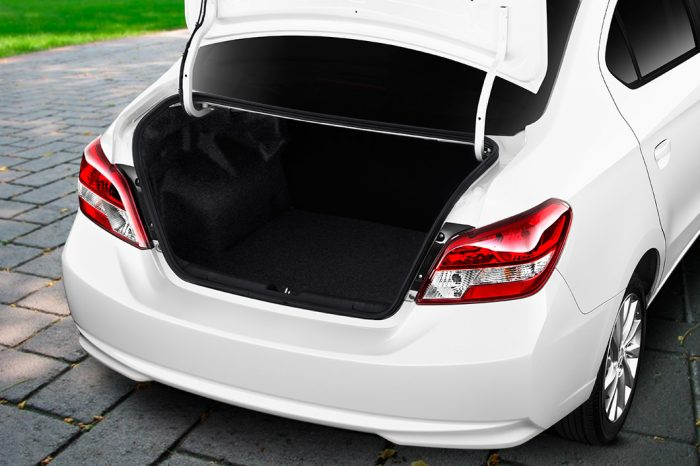How Much Trunk Space Is There In The 2017 Mitsubishi