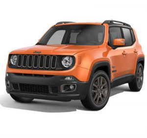 75th Anniversary Jeep Renegade Omaha Orange