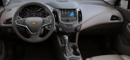 2017 Chevy Cruze Hatchback With Atmosphere Interior