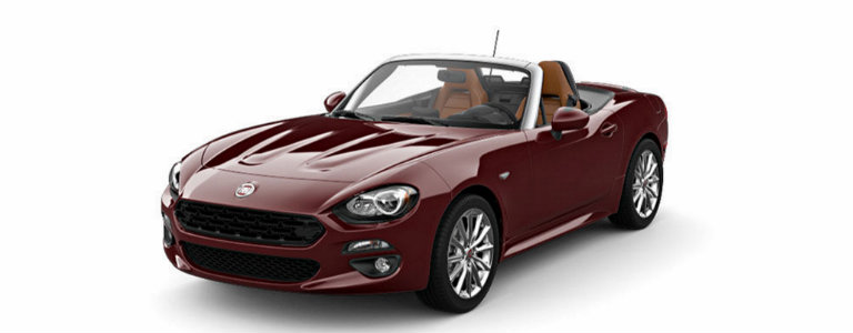 2017 Fiat 124 Spider Color Options