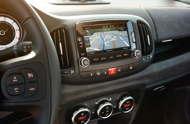 2017 Fiat 500L Interior Technology Awesome Ideas