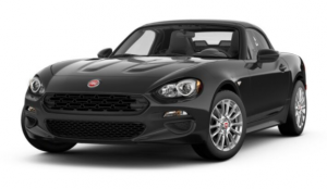 2017 Fiat 124 Spider Nero Cinema Jet Black