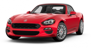 2017 Fiat 124 Spider Rossi Red