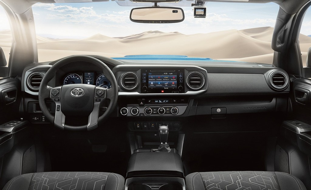 2016 Toyota Tacoma Dash Gallery