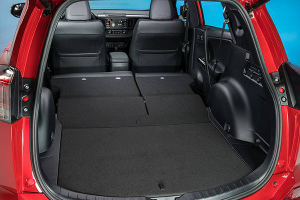 Toyota Rav4 Cargo Space Dimensions >> 2016 Toyota RAV4 Cargo Space and Utility Options