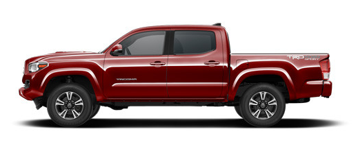 2017 Toyota Tacoma Exterior Color Options