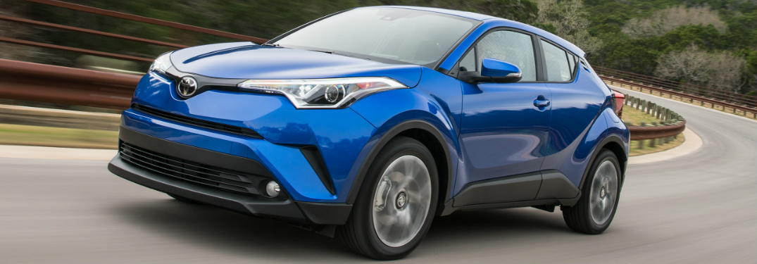 Does 2018 Toyota CH-R offer Toyota Safety Sense (TSS-P)?
