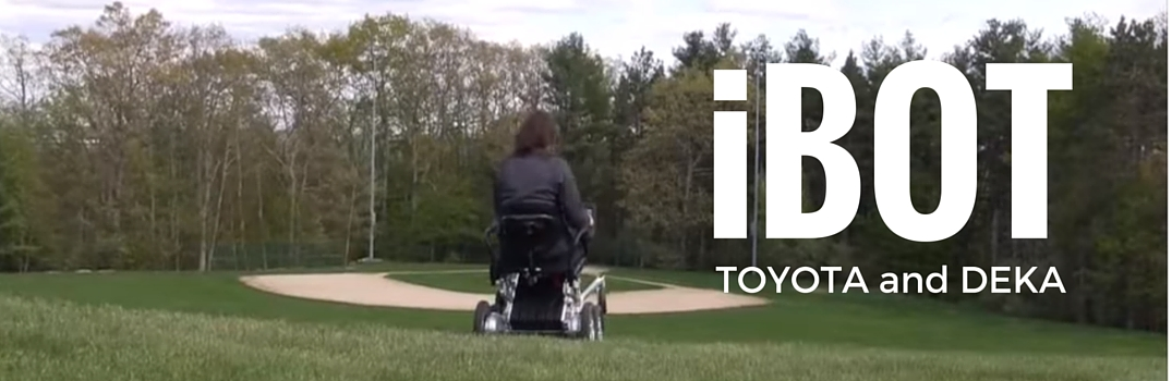 Toyota-Deka Partnership and iBot Motorized Stand-Up Wheelchair