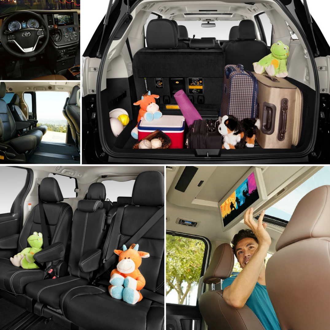 Amazing Photo Gallery Featuring The Interior Of The 2017 Toyota Sienna
