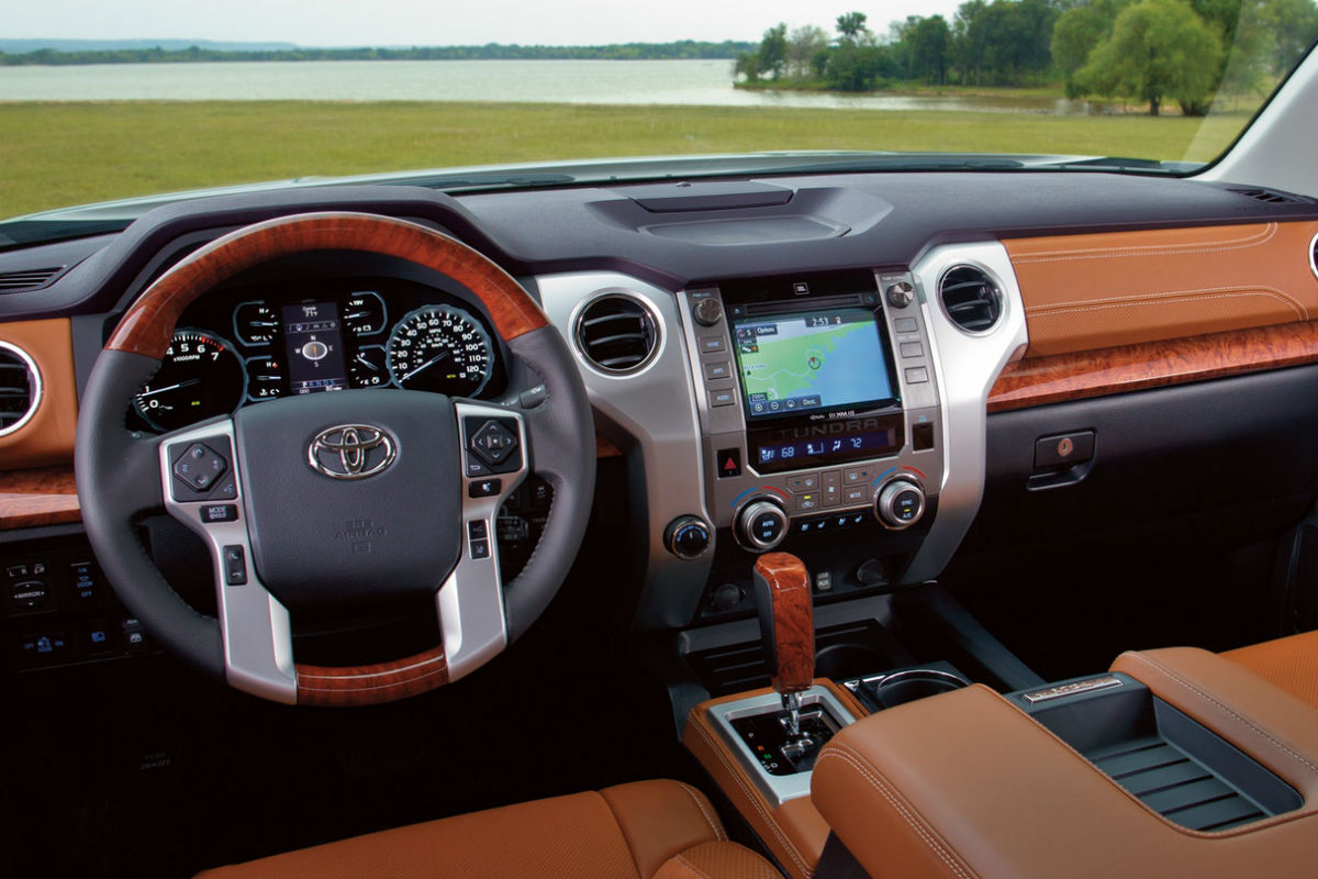 What are the 2018 toyota tundras payload and towing capacities 2018 toyota tundra drivers cockpit publicscrutiny Choice Image