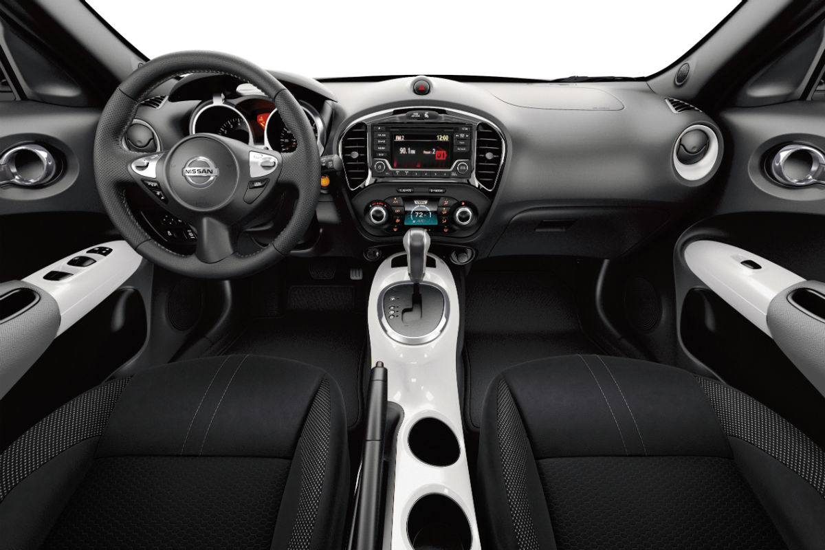nissan juke interior white images galleries with a bite. Black Bedroom Furniture Sets. Home Design Ideas