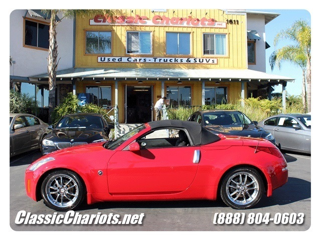 SOLD**2004 Nissan 350Z Touring - CONVERTIBLE SOFT TOP WITH DUAL ...