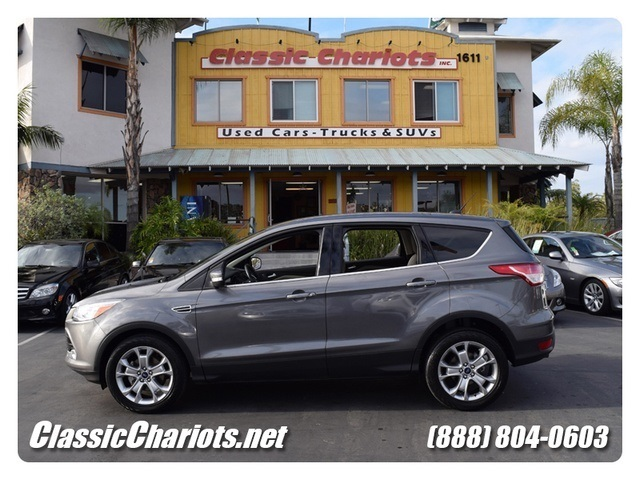 sold 2013 ford escape sel bluetooth full leather seats epa estimated 23 33 mpg used cars. Black Bedroom Furniture Sets. Home Design Ideas