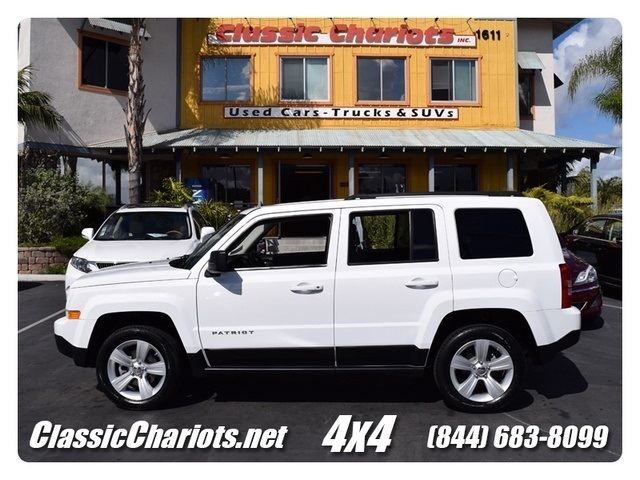sold 2012 jeep patriot latitude 4x4 4x4 bluetooth one owner used cars for sale in san. Black Bedroom Furniture Sets. Home Design Ideas