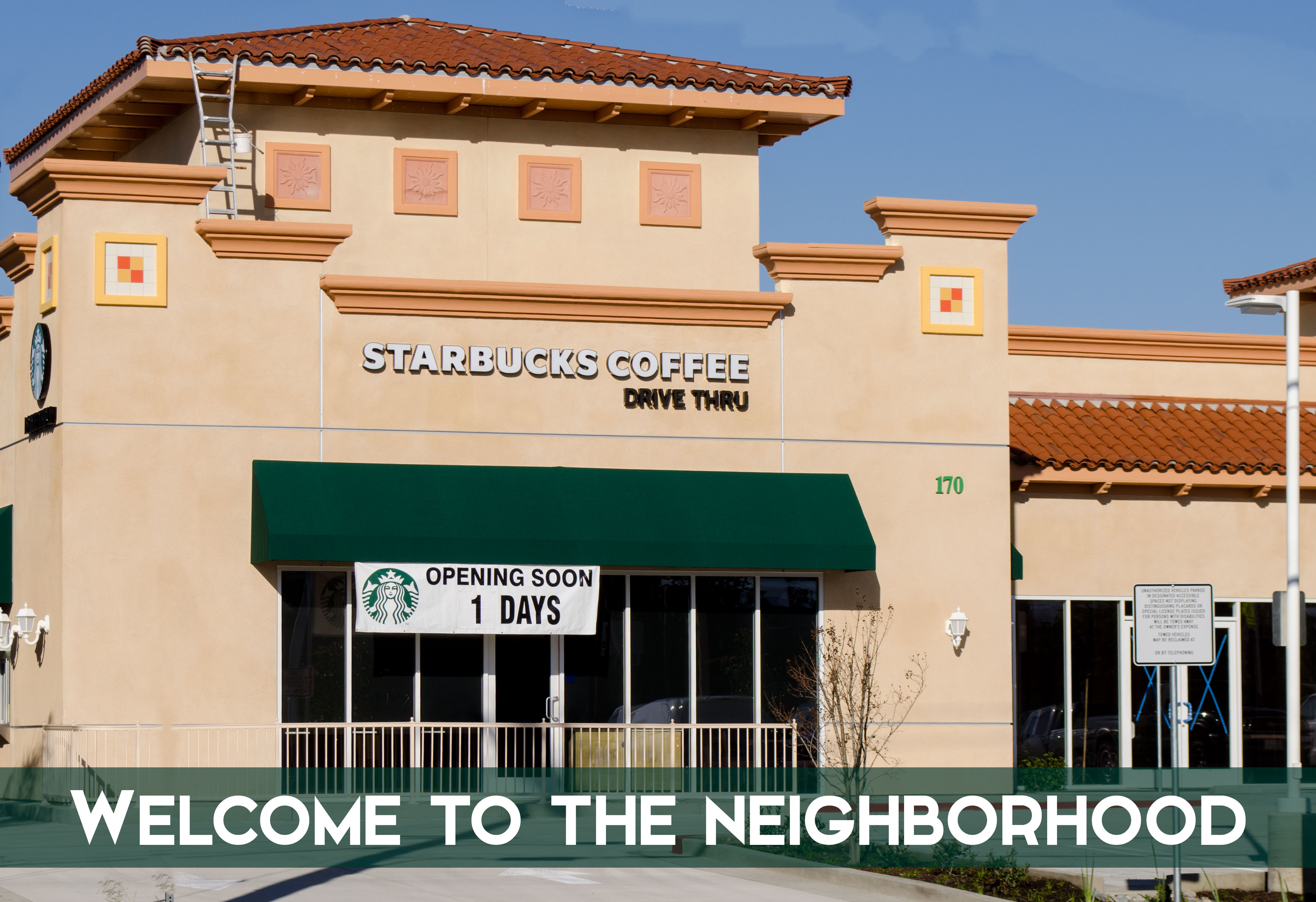 Welcome to Emerald Drive, Starbucks