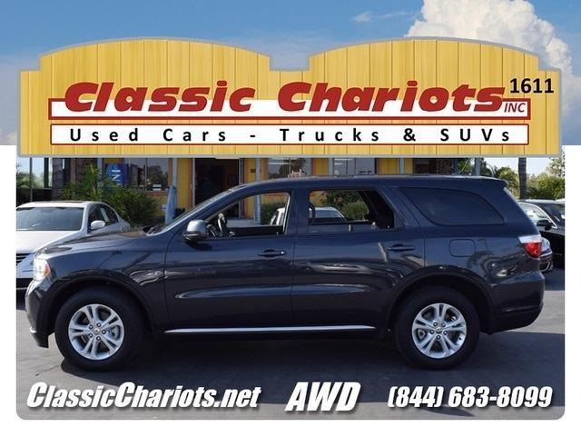 Soldused 2013 dodge durango sxt with third row seat bluetooth used cars for sale in san diego publicscrutiny Choice Image