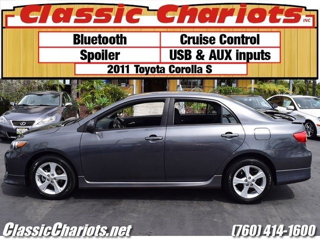 Sold Used 2011 Toyota Corolla S With Bluetooth Usb Aux And