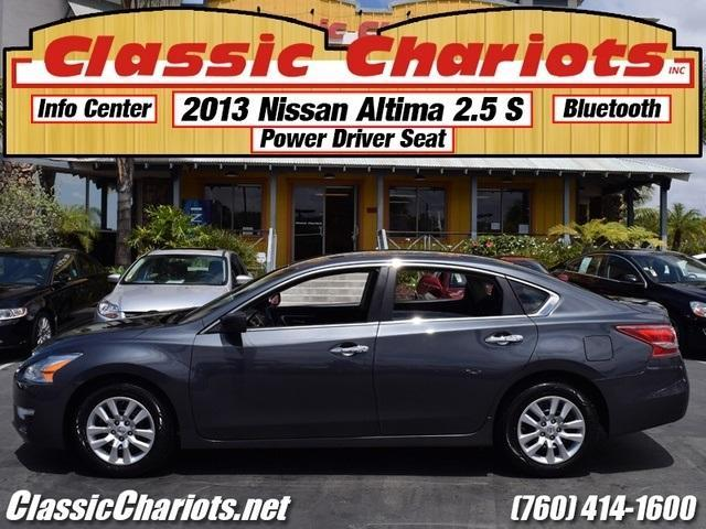 sold used 2013 nissan altima 2 5 s with bluetooth 1 previous owner and 4 new tires for sale. Black Bedroom Furniture Sets. Home Design Ideas
